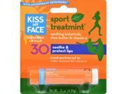 Kiss My Face Lip Balm Sport - Mint - SPF 30 - Case of 12 - .15 oz Sun Care 9SIA4AW4X72625