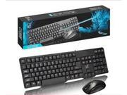 Q8 Optical High-speed USB Wired Gaming Keyboard+Mouse(1000DPI) Suit