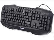 Total excellent judge of genuine tri-color backlit white cafe feel gaming keyboard USB interface