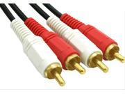 AV audio cable copper wire pairs Lotus 2 pairs of two RCA audio cable to connect the TV audio amplifier line