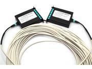 CERTICABLE 100' FT. TINIFIBER OS2 6 DUPLEX KIT 12 SINGLEMODE SM MPO LC SC ST ARMORED FIBER CABLE