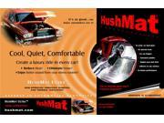 Hushmat 570104 Trunk Sound/Thermal Insulation Kit Fits 62-80 MGB