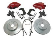 SSBC Performance Brakes A166-3PO SuperTwin; 2-Piston Disc Brake Kit