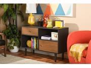 Baxton Studio Auburn Mid-century Modern Scandinavian Style Sideboard Storage Cabinet