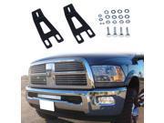 KAWELL20 Single or Dual Row LED Light Bar Mount Bracket Hidden Bumper Mounting Brackets for2003 2014 Dodge Ram