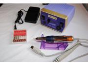 LED Electric Nail Drill 30000rpm Manicure Pen Machine Set Pedicure Tool