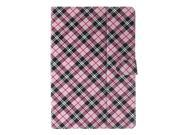 Fabric Pattern General Case with Pen and Screen Protector for 10' Google/Asus/Amazon Tablet , Pink