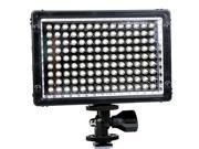 TRIOPO TTV-126 LED Video Light for DSLR DV Camcorder - Black , Black
