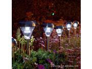 0.6W Stainless Steel Solar Lawn Light courtyard garden lights outdoor decorative lights inserted control lamp