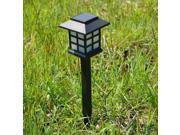 0.06W Solar outdoor plastic lawn light mini solar lights small Chinese lanterns