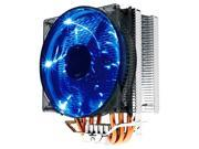4 Heatpipes Blue LED 4Pin PWM Fan Heatsink CPU Cooler for INTEL775/115X/2011 AMD754/939/AM2/AM3/FM1/FM