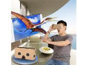 DIY Cardboard 2 Virtual Reality VR 3D Glasses for NEXUS 6 / IPHONE 6 Plus + More - Brown 9SIA4DR3CP2919
