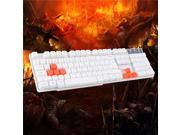 Suspension Imitation 104-key USB Wired Mechanical Feel Gaming Keyboard