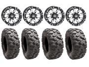STI HD3 14 Wheels Machined 26 Roctane Tires Sportsman RZR Ranger