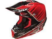 FLY F2 Canard Replica Helmet- [Red/Black] (Medium) [73-4032M]
