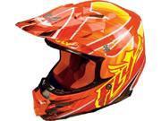 FLY F2 Carbon Acetylene Helmet- [Flo-Orange] (Large) [73-4055L]
