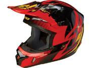 FLY Kinetic Inversion Helmet- [Black/Red] (large) [73-3342L]