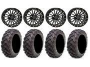 ITP Black Ops Beadlock 14 Wheels 30 Reptile Tires Kawasaki Teryx Mule