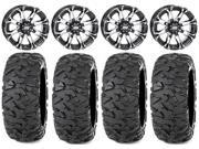 STI HD3 14 Wheels Machined 30 Roctane XS Tires Sportsman RZR Ranger