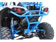 Dragonfire Racing RacePace Octane Blue Rear Smash Bumper Can Am Maverick