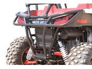 Dragonfire Racing RockSolid Black Rear Bumper Arctic Cat Wildcat Trail Sport