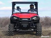 Super ATV Honda Pioneer 1000 Scratch Resistant Half Windshield