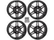 STI HD7 ATV Wheels Rims Smoke 18 Sportsman 550 850 1000