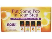 Now Foods Solutions, Put Some Pep in Your Step, Uplifting Essential Oils Kit