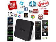 MXQ Kodi 1080P QUAD CORE 4.4 Android Smart TV BOX 4K Media Player Full Loaded