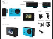 "Outdoor 2"" 720P 5MP Waterproof Helmet Sport Action Video Camera Cam DV--Black"