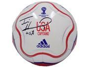 Tim Howard USA Signed Adidas World Cup Full Sz Capitano Soccer Ball JSA ITP