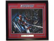 Stan Lee Marvel Comics Signed & Framed 16x20 Spider-Man Web Photo Stan Lee Holo 9SIA4F01N18623