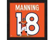Peyton Manning Framed Denver Broncos 20x20 Jersey Photo 9SIA4F03ZZ8171