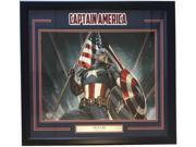 Stan Lee Marvel Comics Signed Framed 16x20 Captain America Flag Photo Lee Holo 9SIA4F04C14915