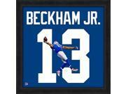 Odell Beckham Jr. Framed New York Giants 20x20 Jersey Photo 9SIA4F04FH7779