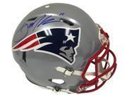 Julian Edelman Signed NE Patriots Full Size Riddell Proline Speed Helmet JSA