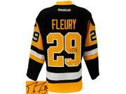 Marc-Andre Fleury Signed Pittsburgh Penguins Throwback Reebok Premier Jersey JSA 9SIA4F03XA0222