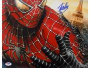 Stan Lee Marvel Comics Signed 11x14 Spiderman Photo PSA 6A29214 9SIA4F03GS9223