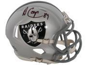 Amari Cooper Signed Oakland Raiders Riddell Mini Helmet JSA 9SIA4F057C0744