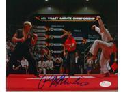 Ralph Macchio Signed Karate Kid 8x10 Photograph vs Johnny Lawrence JSA 9SIA4F05J71771