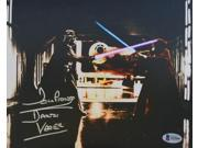 Dave Prowse Signed Star Wars Darth Vader 8x10 vs Obi-Wan Kenobi Photo Beckett 9SIA4F05K80266