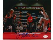 Ralph Macchio Signed Karate Kid 8x10 Photograph vs Johnny Lawrence JSA 9SIA4F05J71771