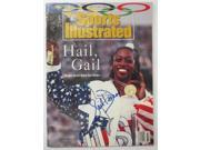 Gail Devers USA Track Signed August 10, 1992 Sports Illustrated Magazine JSA