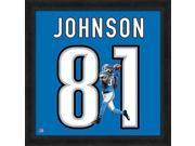 Calvin Johnson Framed Detroit Lions 20x20 Jersey Photo 9SIA4F04FH7682