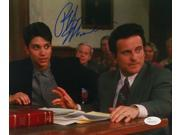 Ralph Macchio Signed My Cousin Vinny 8x10 Photograph with Joe Pesci JSA 9SIA4F05J71770