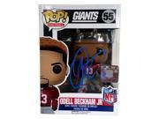 Odell Beckham Jr Signed New York Giants Pop! Funko JSA 9SIA4F05VH8181