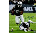 Amari Cooper Signed Oakland Raiders 16x20 Running Photo JSA ITP 9SIA4F067X8405