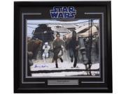 Daisy Ridley Signed Framed Star Wars: The Force Awakens 16x20 Running Photo PSA 9SIA4F06M36184