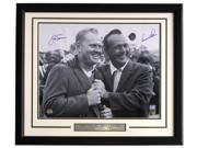 Jack Nicklaus Arnold Palmer Signed Framed 16x20 PGA Golf Photo Mounted Memories 9SIA4F06YV6019