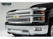 T-Rex Grilles 6711200 X-Metal Series; Studded Mesh Grille Overlay Silverado 1500
